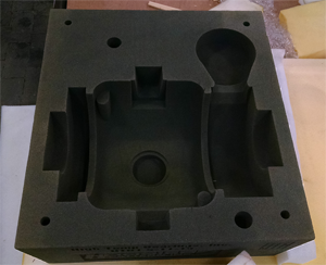 High Temp Beairngs 3D Printed Sand Mold